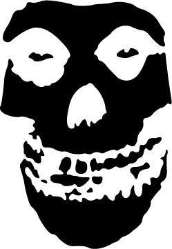 The Misfits Skull Logo Misfits Logo by...