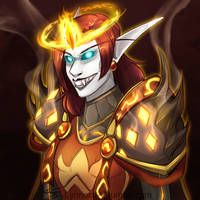 World of Warcraft: Hot Damned Death Knight by Jadenyte