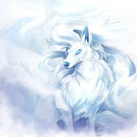 Pokemon Sun/Moon - Alolan Ninetales by Jadenyte