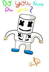 Unganda Marshmello by invers-espongebob