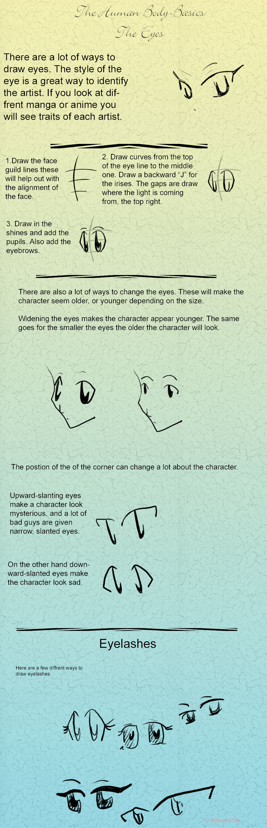Tutorial: Eyes by kitsune2736