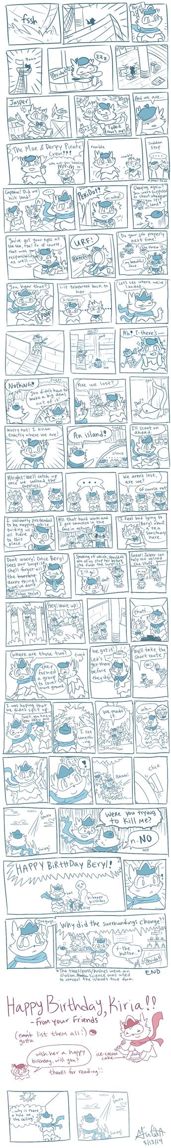 [Sea Ziggys] Beryl's Birthday by Giniqua