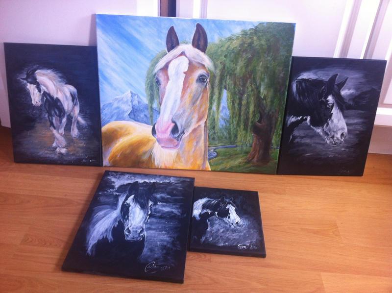 Horses everywhere by ArtistMaz