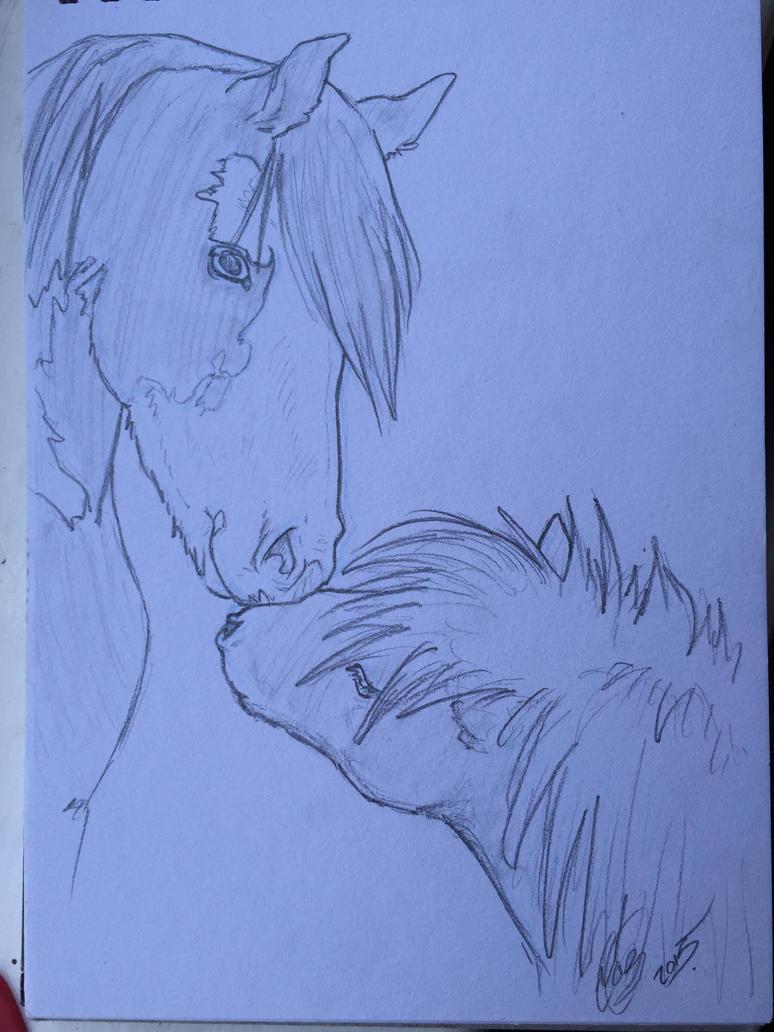 Friends sketch by ArtistMaz