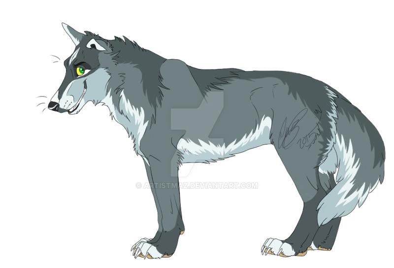 Wolf Adopt by ArtistMaz