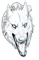 Adina Facial Snarly Sketch by ArtistMaz