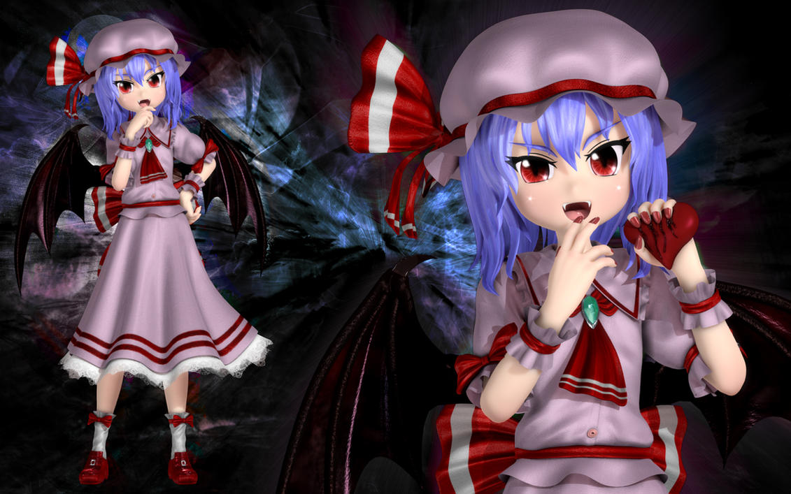 Remilia Scarlet II by Primantis