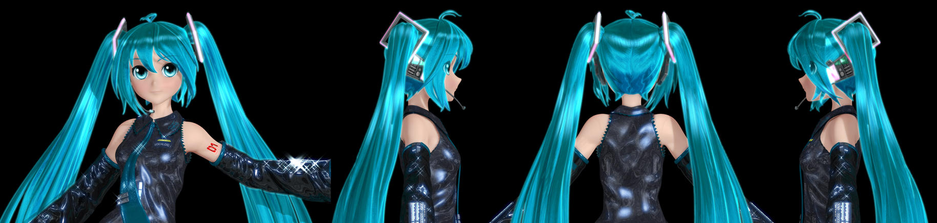 Miku's New Hair by Primantis