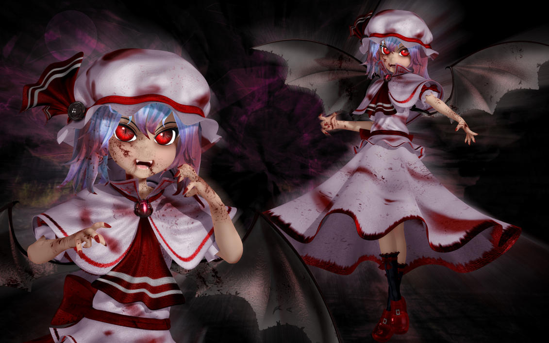 Remilia Scarlet - Blood Crazed by Primantis