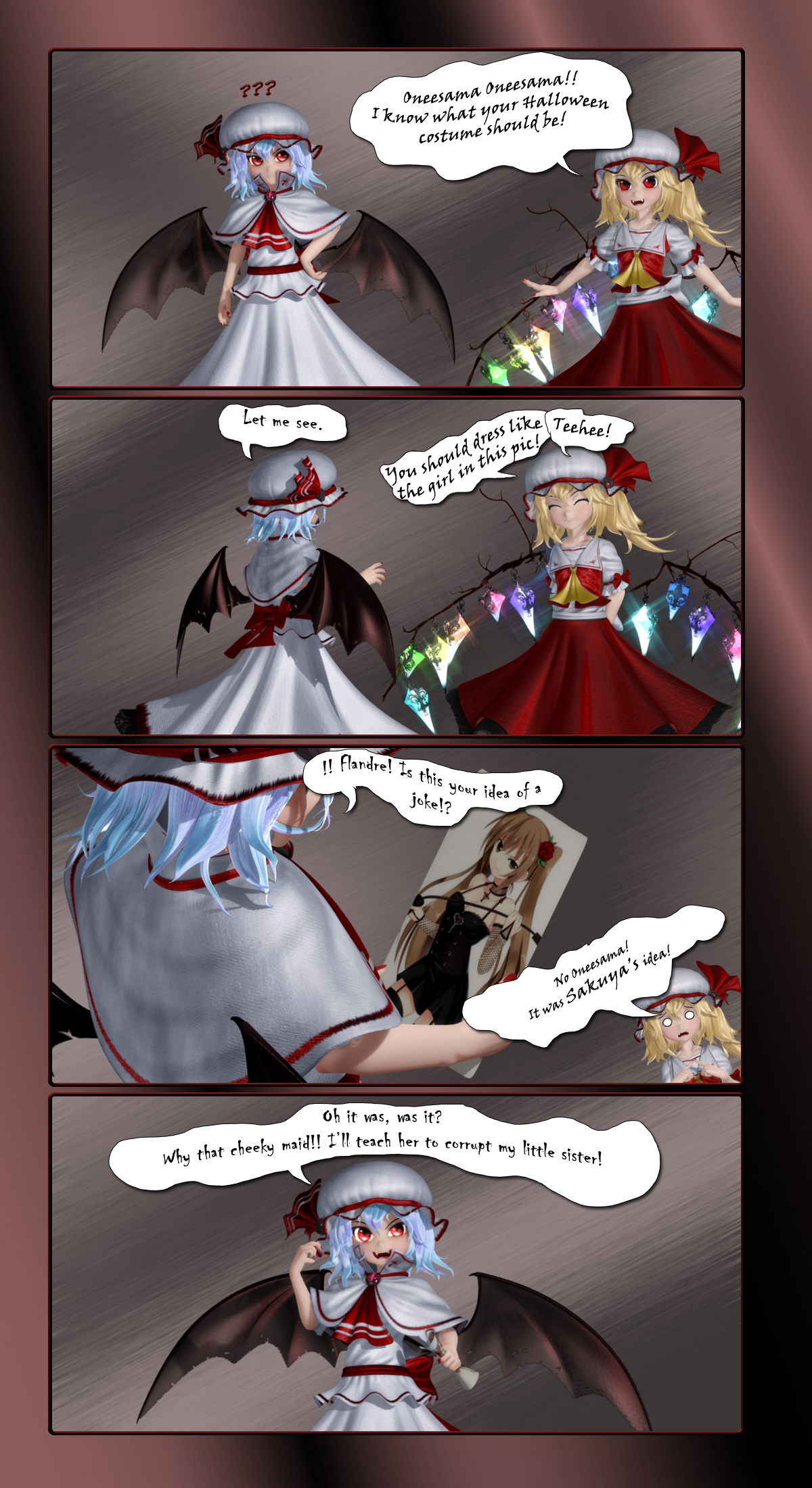 Remilia's Halloween 4Koma by Primantis