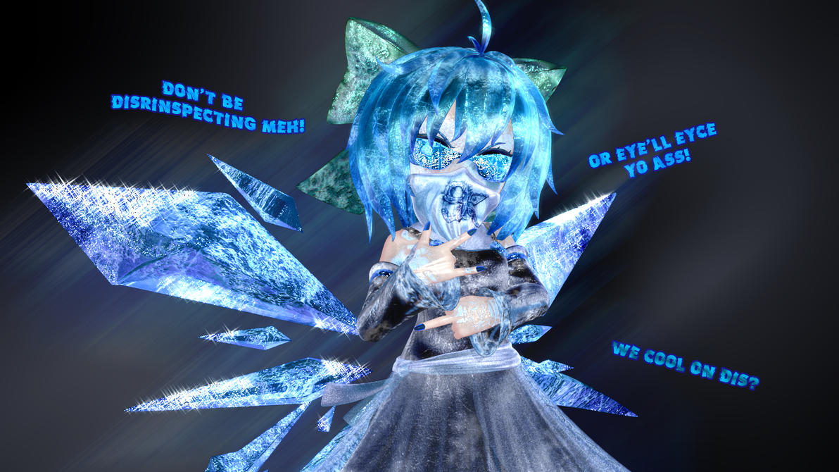 Gangsta Cirno by Primantis