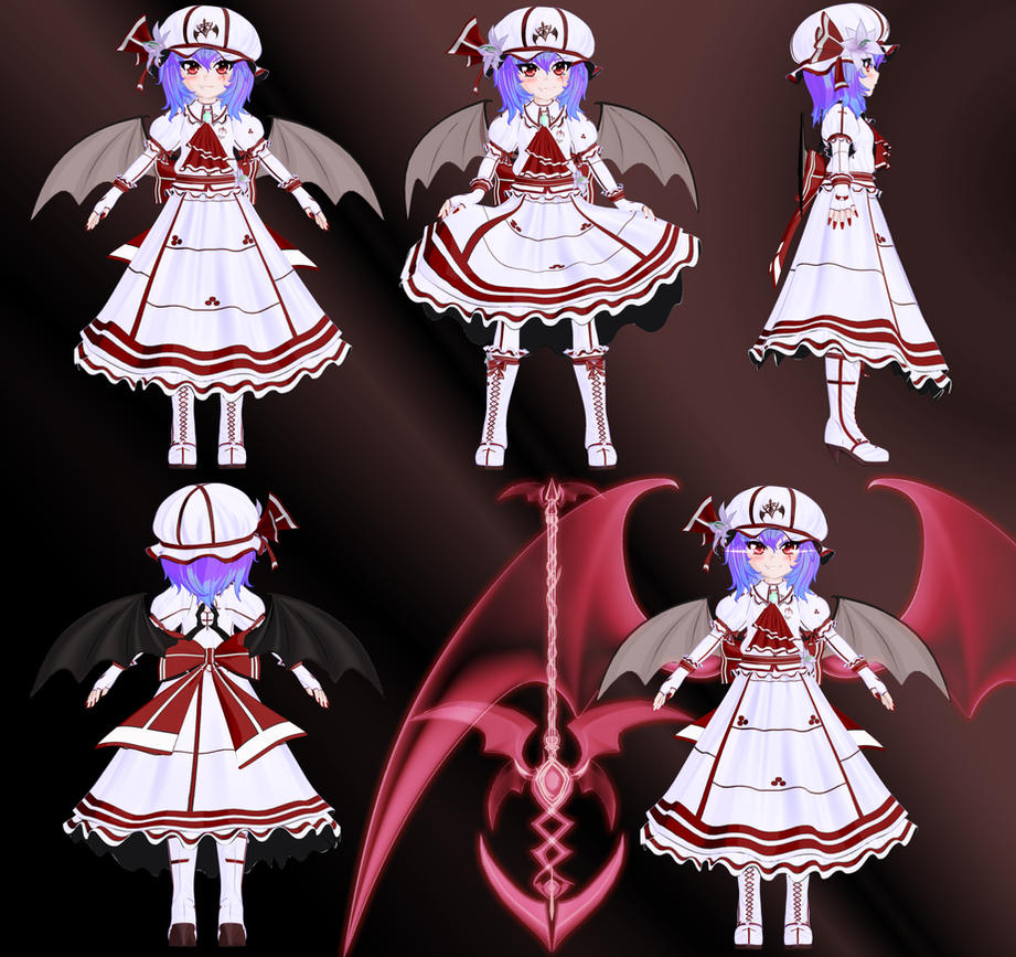 Remilia Scarlet - Character Sheet by Primantis