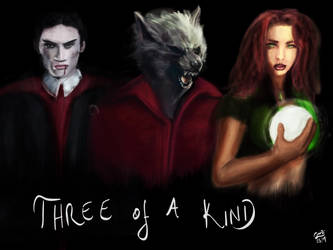 Three of a kind by Gothic007