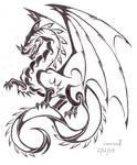 Full dragon tattoo v2