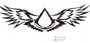 Altair tattoo symbol
