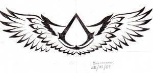 Altair tattoo symbol v2