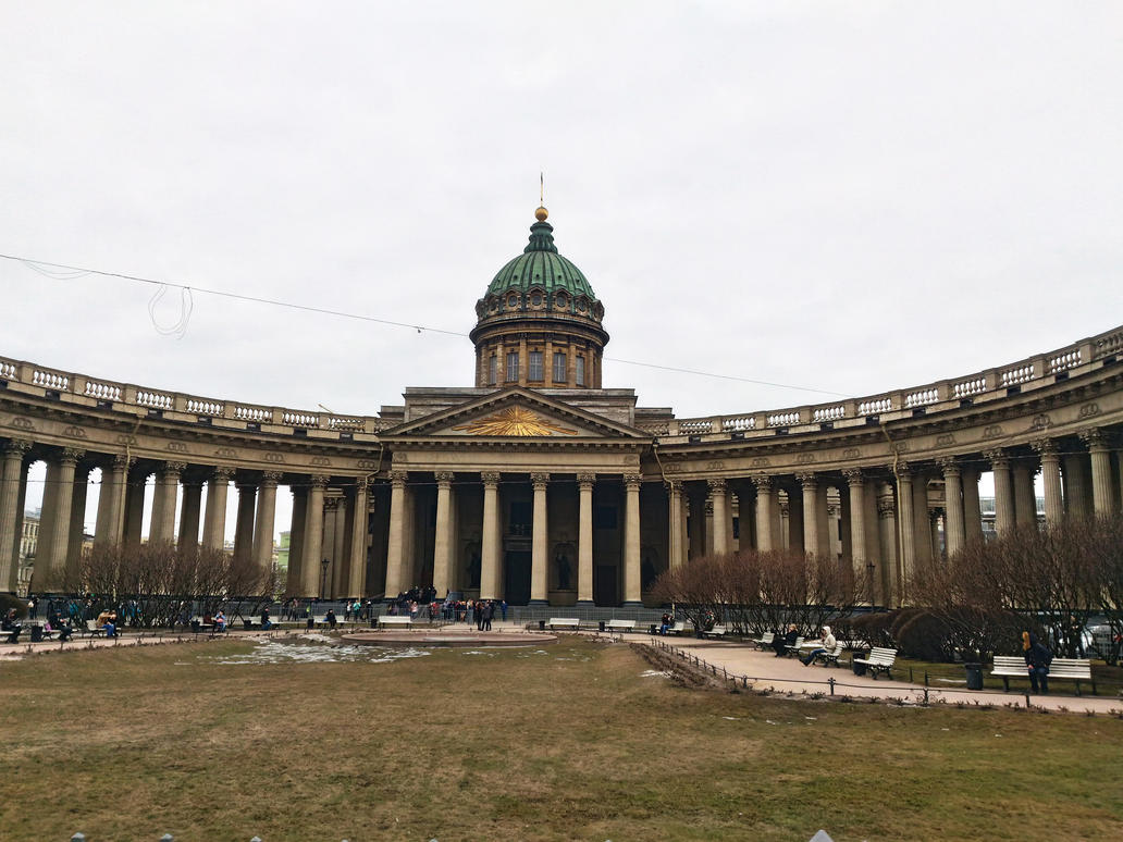 Kazan Cathedral by AbbyssOfSins