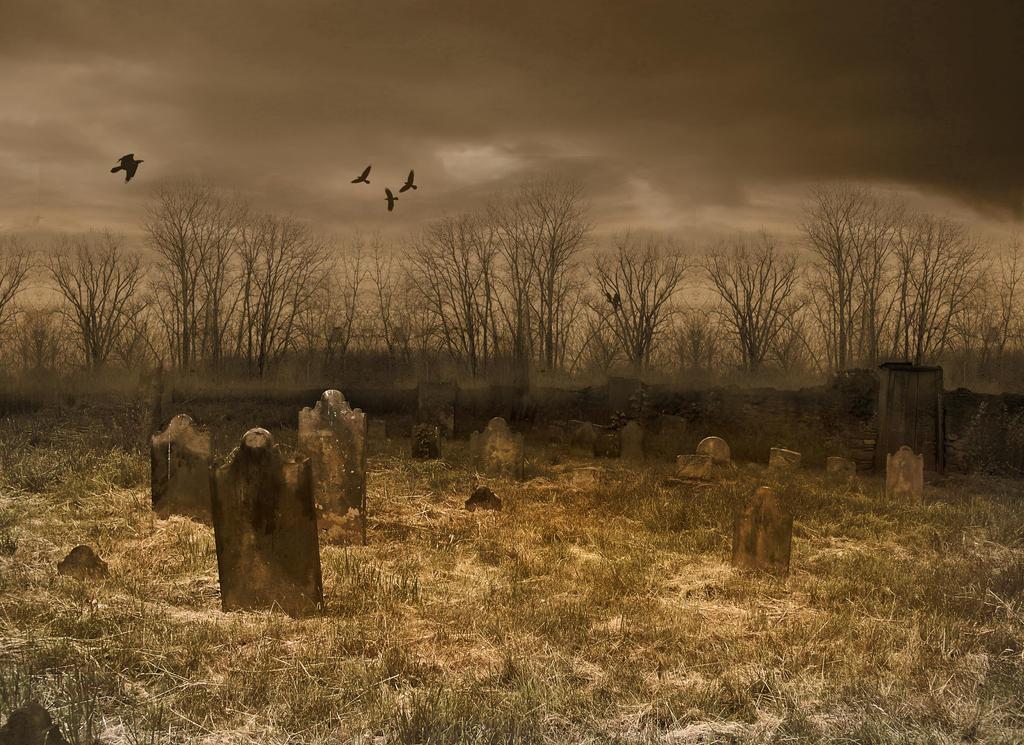Cemetery Background by greyfortofmars