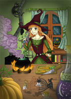 Naive Witch by Gueule-de-Loup