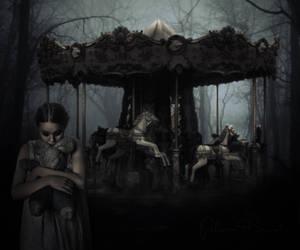 Haunted Carousel by PakinamElBanna
