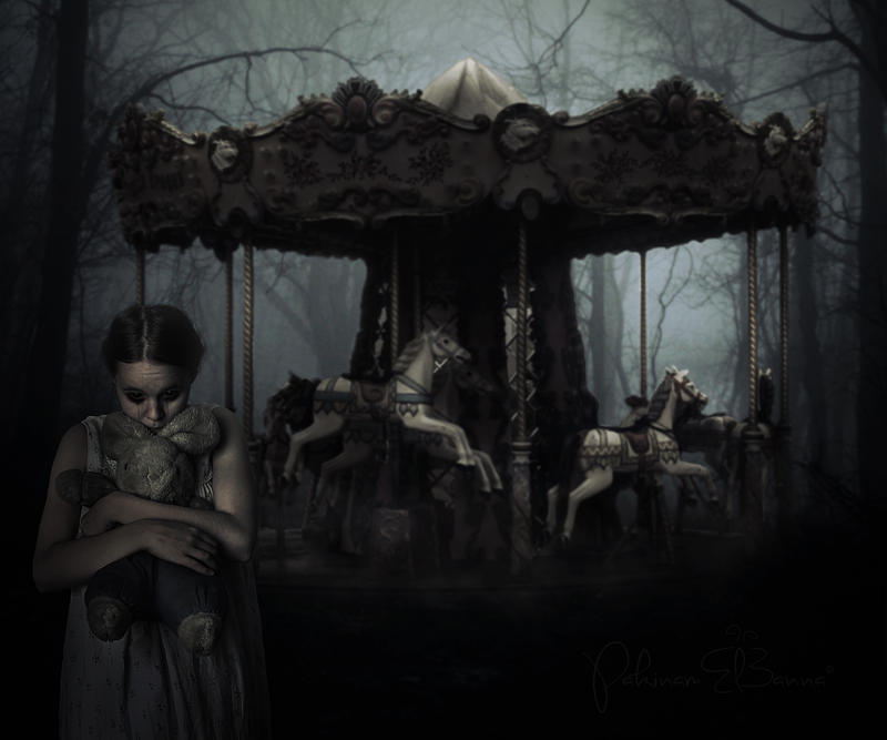 Haunted Carousel by PakinamElBanna