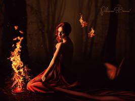 Burn This Heart Away by PakinamElBanna