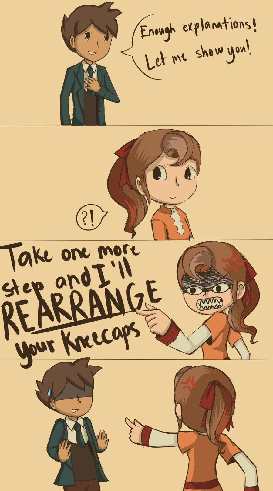 Rearranging kneecaps by KatInATopHat
