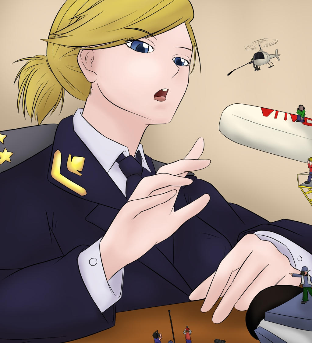 Natalia Poklonskaya's Big Press by notETZ