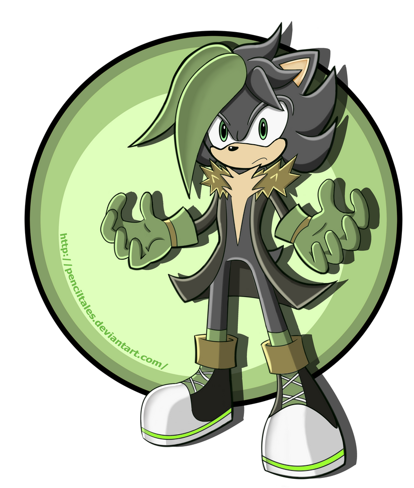 Ashley the shadow hedgehog Updated by PencilTales on ...
