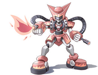 Medabots Afterburn FC by PixiTales