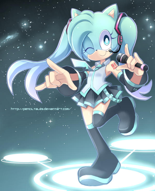 Miku Melody Notes by PencilTales