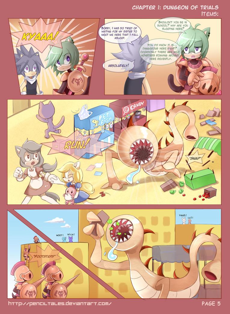 Chase Hedgehog Page5 Run Furries, Run! by PencilTales