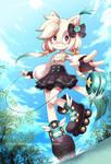 Ying Ying Sonic the hedgehog Fanart
