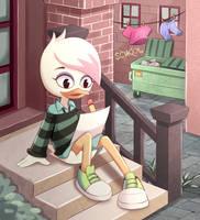 Ducktales 2017 fanart: Lena by PixiTales