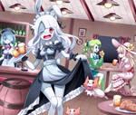 Amy Monochrome - Zombie bar maid