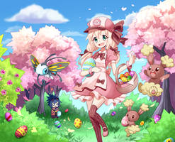 Melody Notes and Pokemon Easter Day! by PixiTales