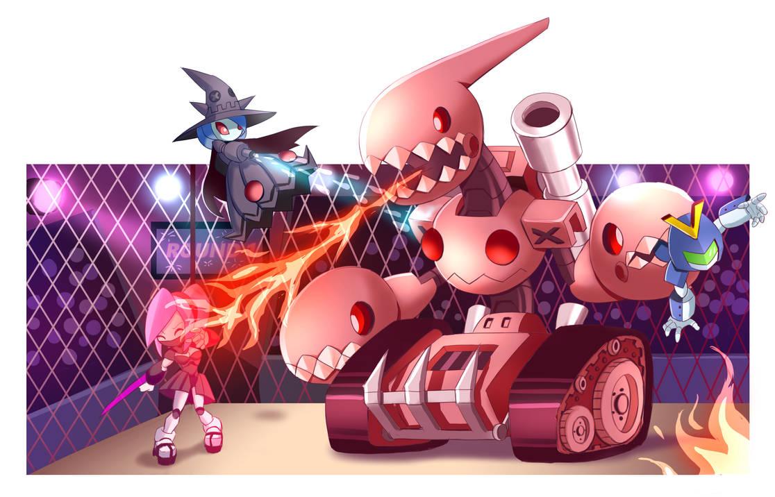 Medabot Boss - Chomp Chomp Tank by PixiTales