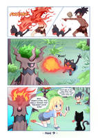 Pokemon: Melody's Adventures Comic page 9 by PixiTales