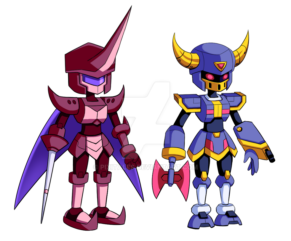 Medabot Online: Character Design Concept #1-2 by PixiTales