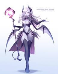 Magical Girl Series - Pandora the Dark Queen OC