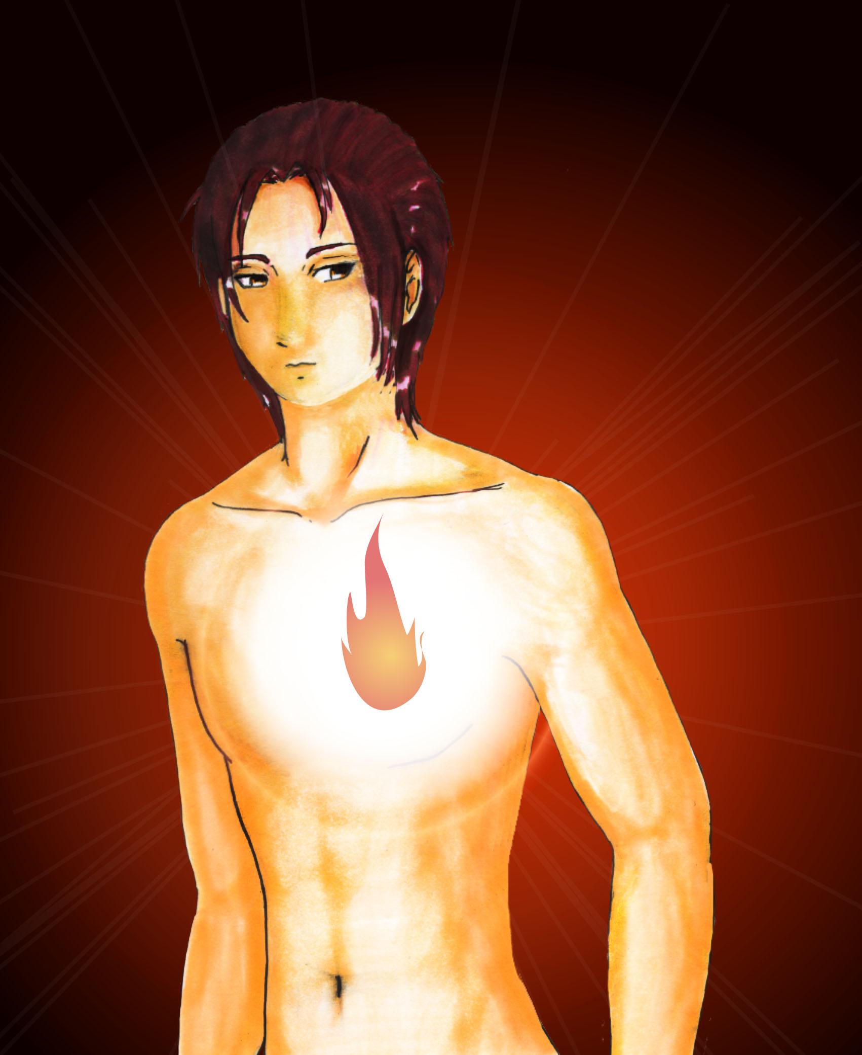 Fire Elemental Male by Suzumiya-Chie on deviantART