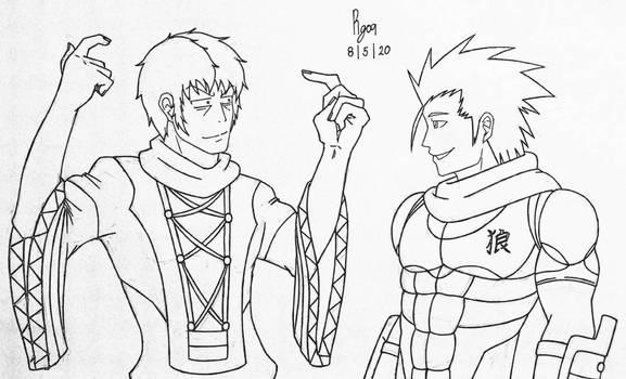 Ken and Maikeru (Crossover Duo)