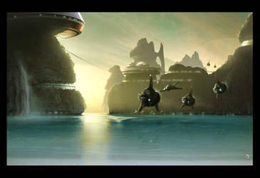 Lagoon base by Grimdar