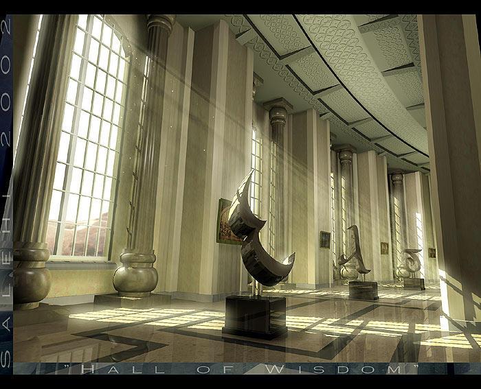 The Hall of Wisdom by Grimdar