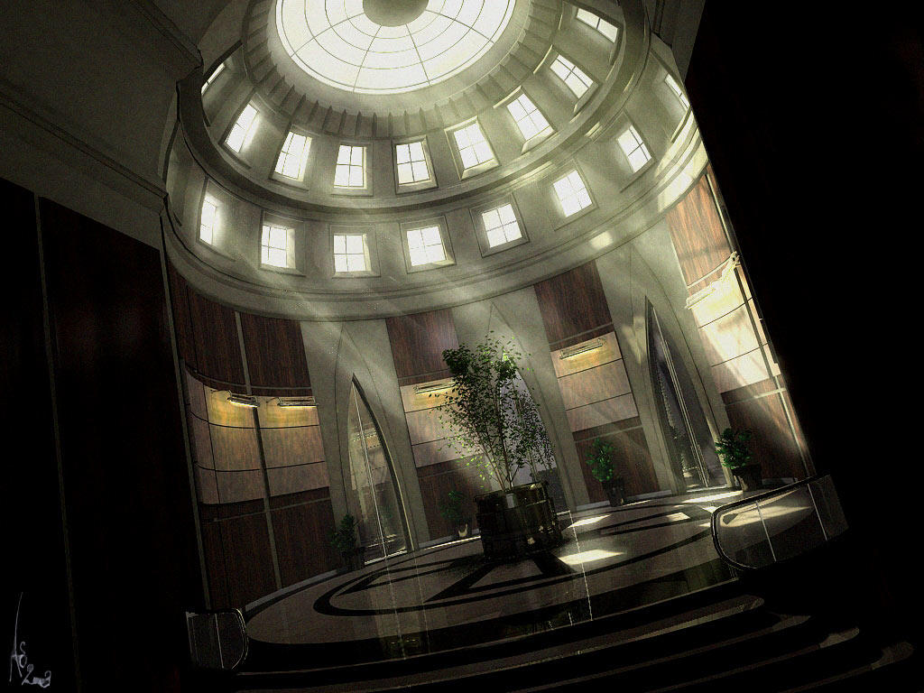 Oval Hall by Grimdar