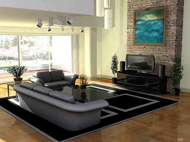 Living Room by Grimdar
