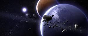 Pre-Animation Space Scene