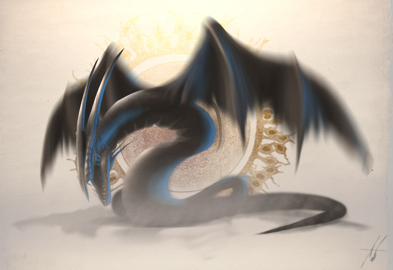 If I were a dragon ... I would look like this .. - Page 39 Concept__Ethereal_Dragon_by_Grimdar