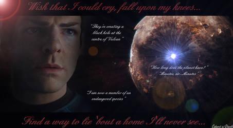 Spock - It's not easy by CABARETdelDIAVOLO