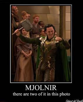 Mjolnir, not just an hammer...